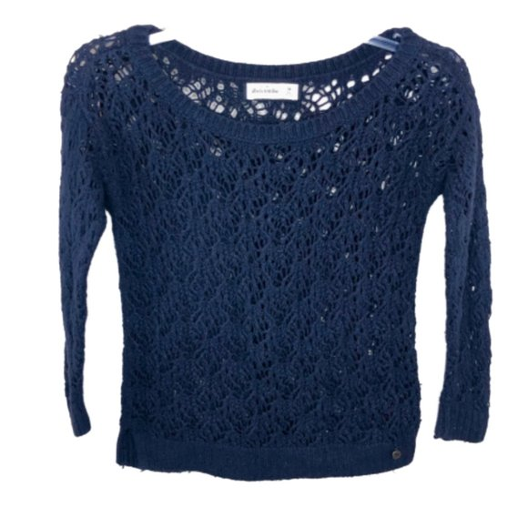 abercrombie kids Other - 5/$35 Abercrombie Kids Crocheted Knit Sweater - M